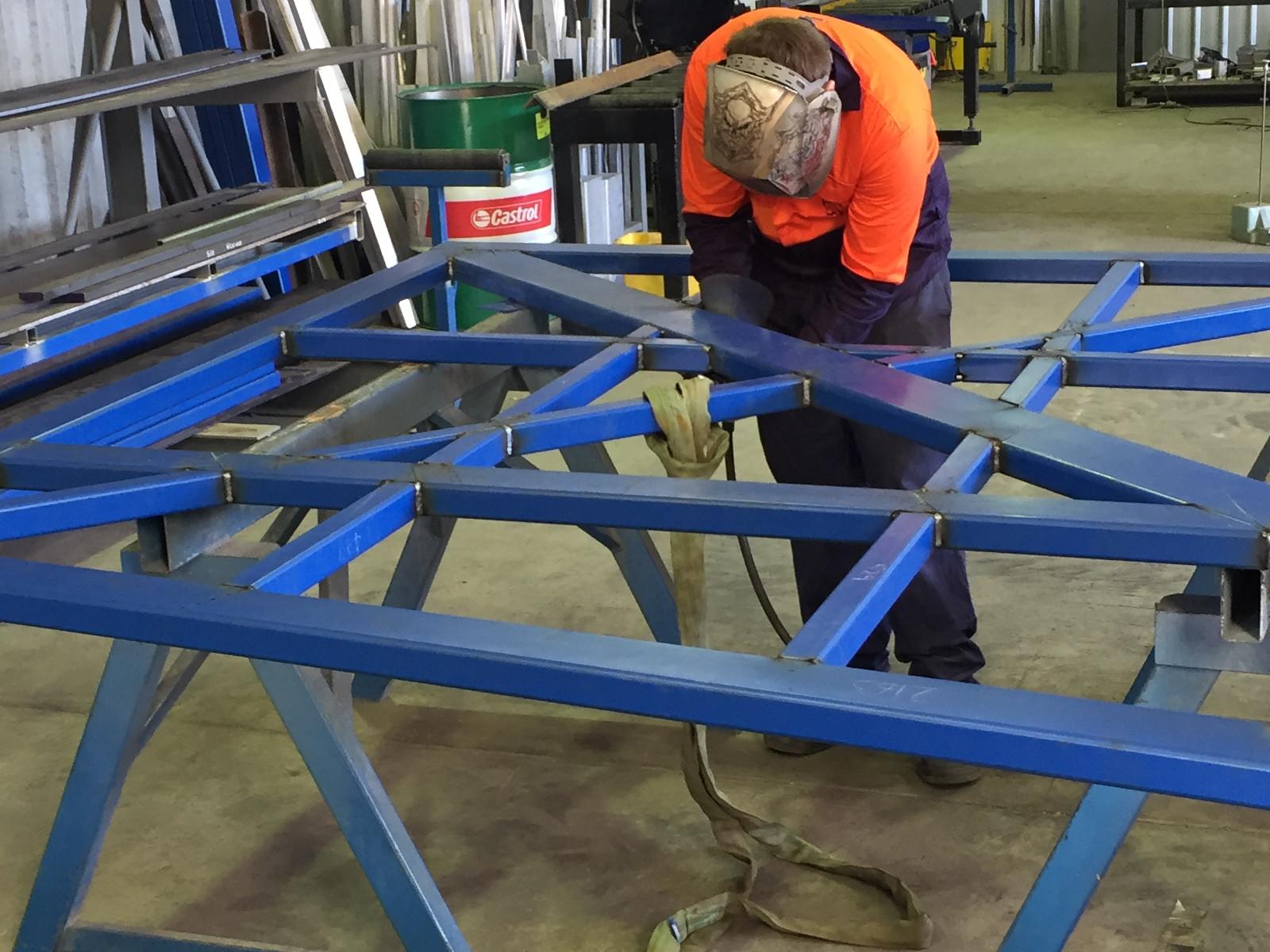 steel aluminium fabrication cane bin civil concrete reservoir advanced concrete engineering post tension tank prestress slab